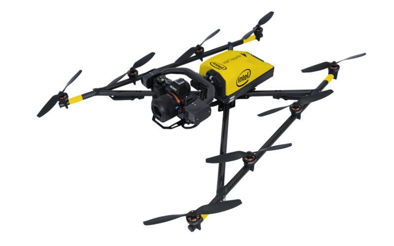 2020無人機知識總整理-全球四大無人機品牌:Intel-Falcon-8