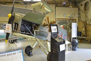 DH.82B Queen Bee(防空炮兵訓練機)